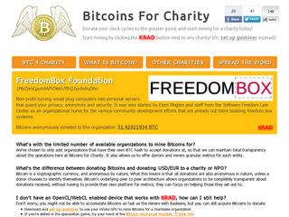 Bitcoins For Charity
