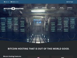 BitcoinWebHosting.net : Dedicated Servers, VPS & Shared Hosting