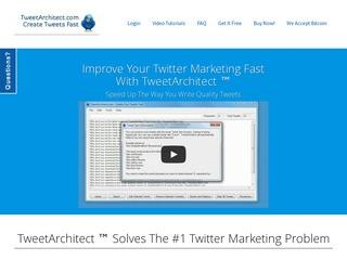 TweetArchitect - Your Fast Twitter Marketing Editor